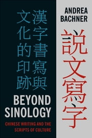 Beyond Sinology - Chinese Writing and the Scripts of Culture ebook by Andrea Bachner