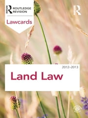 Land Law Lawcards 2012-2013 ebook by Routledge