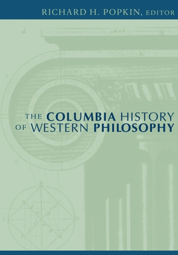 The Columbia History of Western Philosophy ebook by