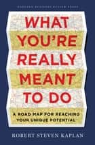 What You're Really Meant to Do ebook by Robert Steven Kaplan