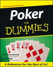 Poker For Dummies ebook by Richard D. Harroch,Lou Krieger