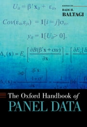 The Oxford Handbook of Panel Data ebook by Badi H. Baltagi