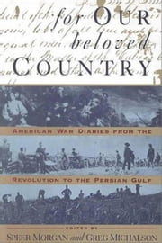For Our Beloved Country ebook by Speer Morgan
