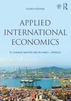 Applied International Economics ebook by W. Charles Sawyer, Richard L. Sprinkle
