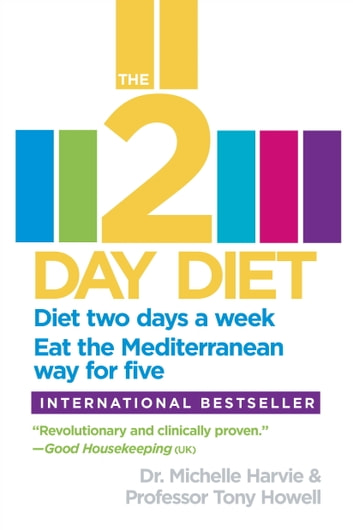 The 2-Day Diet - Diet two days a week. Eat the Mediterranean way for five. ebook by Dr. Michelle Harvie,Professor Tony Howell