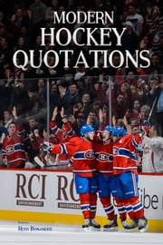 Modern Hockey Quotations ebook by Ross Bonander