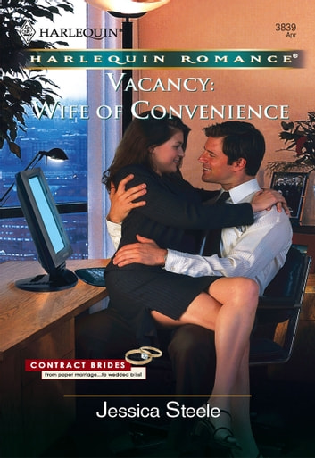 Vacancy: Wife of Convenience ebook by Jessica Steele
