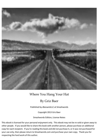 Where You Hang Your Hat ebook by Griz Baer