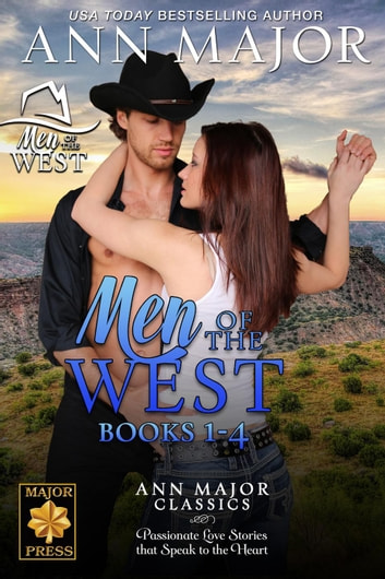 Men of the West Books 1-4 - Men of the West, #5 ebook by Ann Major
