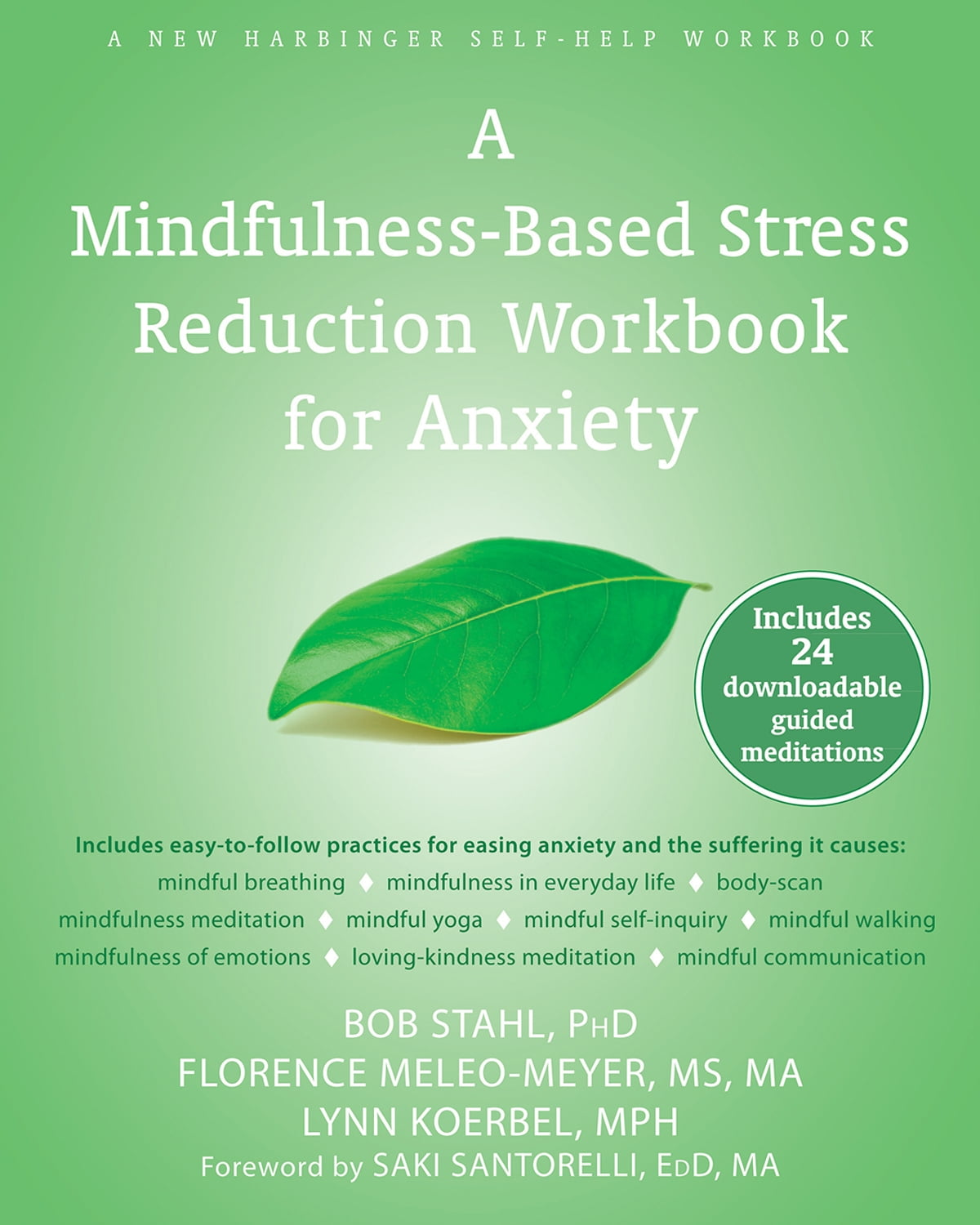 Workbooks best anxiety workbook : A Mindfulness-Based Stress Reduction Workbook for Anxiety eBook by ...