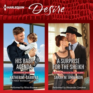 His Baby Agenda & A Surprise for the Sheikh audiobook by Katherine Garbera,Sarah M. Anderson