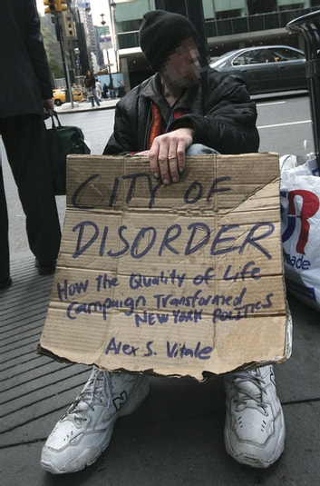 City of Disorder - How the Quality of Life Campaign Transformed New York Politics ebook by Alex S. Vitale