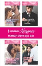 Harlequin Romance March 2019 Box Set - An Anthology ebook by Jennifer Faye, Nina Singh, Therese Beharrie,...