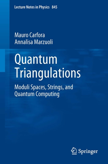 Quantum Triangulations - Moduli Spaces, Strings, and Quantum Computing ebook by Mauro Carfora,Annalisa Marzuoli