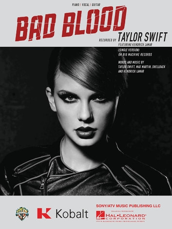 Bad Blood Sheet Music ebook by Taylor Swift