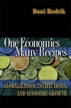 One Economics, Many Recipes - Globalization, Institutions, and Economic Growth ebook by Dani Rodrik