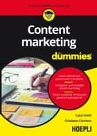 Content marketing for dummies eBook by Luca Conti, Cristiano Carriero