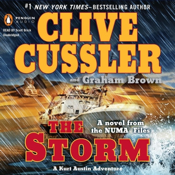 The Storm audiobook by Clive Cussler,Graham Brown