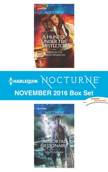 Harlequin Nocturne November 2016 Box Set - A Hunter Under the Mistletoe\Immortal Billionaire ebook by Jane Godman