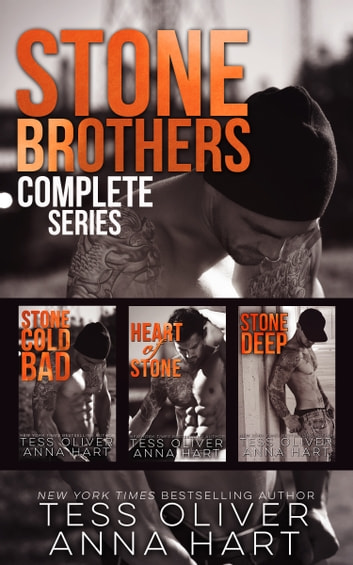 Stone Brothers Complete Series - Box Set ebook by Tess Oliver,Anna Hart