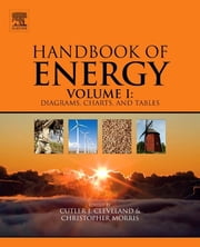 Handbook of Energy - Diagrams, Charts, and Tables ebook by Cutler J. Cleveland,Christopher G. Morris