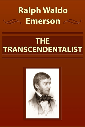 ralph waldo emerson and the american transcendentalism