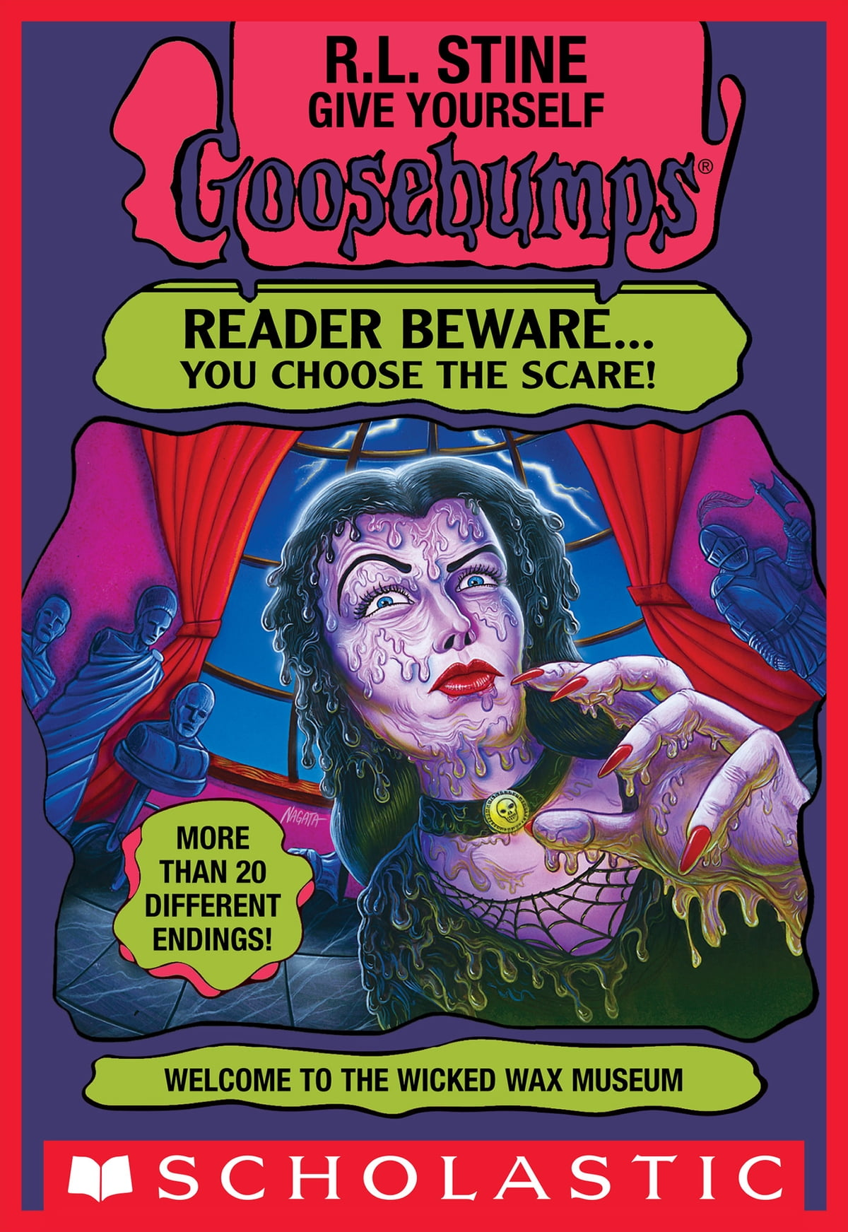 Give yourself goosebumps special edition trapped in the circus of welcome to the wicked wax museum give yourself goosebumps 12 ebook by r l fandeluxe Images