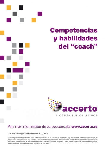 "Competencias y habilidades del ""coach"" ebook by Accerto"