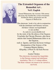 The Extended Organon of the Remedial Art of Samuel Hahnemann (english) ebook by Hahnemann, Samuel