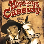 Hopalong Cassidy - Out from the Bar 20 audiobook by