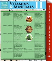 Vitamins & Minerals Il (Speedy Study Guides) ebook by Speedy Publishing