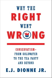 Why the Right Went Wrong - Conservatism—From Goldwater to the Tea Party and Beyond ebook by E.J. Dionne Jr.
