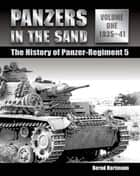 Panzers in the Sand ebook by Bernd Hartmann