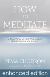 How to Meditate - A Practical Guide to Making Friends with Your Mind ebook by Pema Chödrön