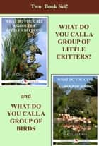Two Book Set! What Do You Call A Group Of Little Critters and What Do You Call A Group of Birds ebook by Cullen Gwin