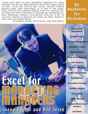 Excel for Marketing Managers ebook by Ivana Taylor,Bill Jelen
