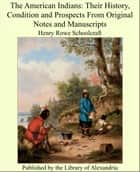 The American Indians: Their History, Condition and Prospects From Original Notes and Manuscripts ebook by Henry Rowe Schoolcraft