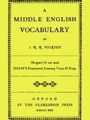 A Middle English Vocabulary ebook by John Ronald Reuel Tolkien