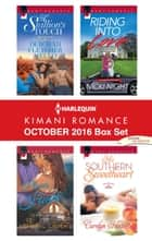 Harlequin Kimani Romance October 2016 Box Set - A Stallion's Touch\Places in My Heart\Riding into Love\His Southern Sweetheart ebook by Deborah Fletcher Mello, Sheryl Lister, Nicki Night,...