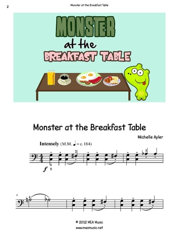 Monster at the Breakfast Table ebook by Michelle Ayler