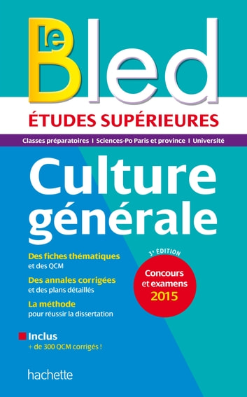 Bled Sup Culture Générale ebook by Philippe Solal
