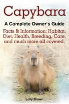 Capybara ebook by Lolly Brown