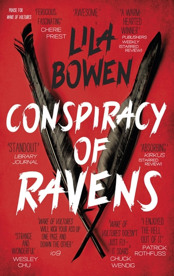 Conspiracy of Ravens - The Shadow, Book Two ebook by Lila Bowen