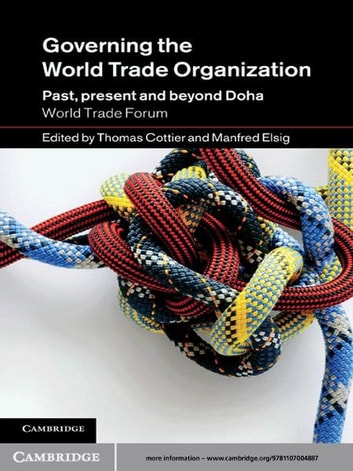 Governing the World Trade Organization - Past, Present and Beyond Doha ebook by