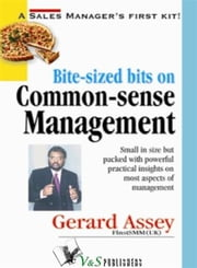 Bite-sized bits on Common Sense Management ebook by Gerard Assey