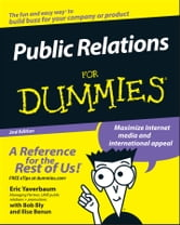 Public Relations For Dummies ebook by Eric Yaverbaum,Ilise Benun