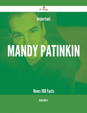 Important Mandy Patinkin News - 168 Facts ebook by Richard Burris