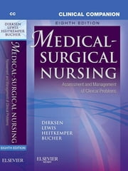 Clinical Companion to Medical-Surgical Nursing ebook by Sharon L. Lewis, Shannon Ruff Dirksen, Margaret M. Heitkemper,...