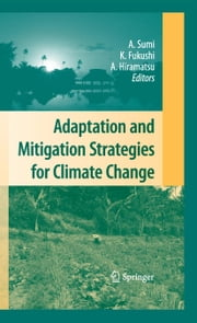 Adaptation and Mitigation Strategies for Climate Change ebook by Akimasa Sumi,Kensuke Fukushi,Ai Hiramatsu
