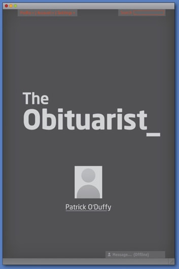 The Obituarist ebook by Patrick O'Duffy